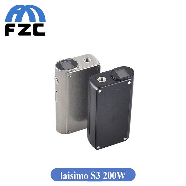Original Laisimo S3 200 w Caja Mod VS Joyetech Cuboid Mini S3 Xcube Laisimo TC II Mod