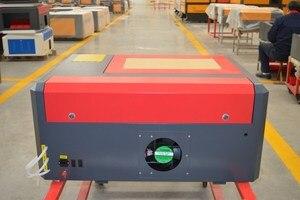 Image 5 - Máquina de grabado láser Co2 4040 de 50W para cortar madera contrachapada, madera, MDF, acrílico, cristal, vidrio, papel, plástico, plexiglás