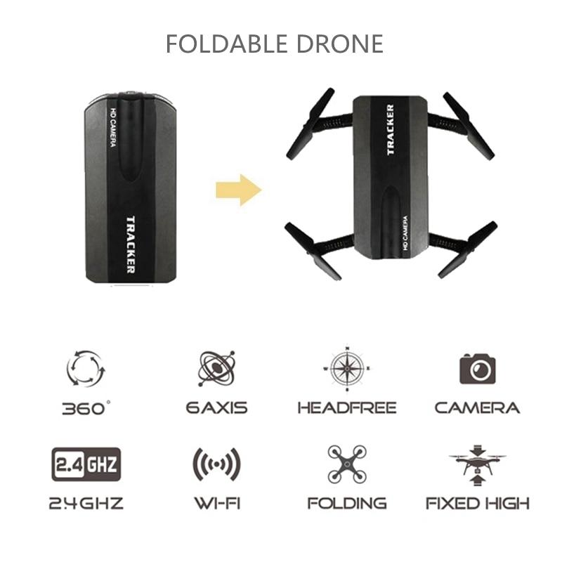 JXD 523 Tracker Selfie Pocket Drone Altitude Hold Foldable