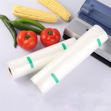 Free shipping 2pcs/lot 8Sizes *500cm/5meter roll PET Pattern vacuum bag/Cut Punch food packaging/storage Heat Sealed bag