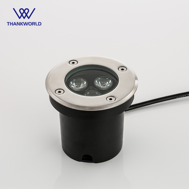 VW Luminaire Led Underground Lights IP67 Buried Outdoor Recessed Floor  Lighting 3W Path Garden Lamp Inground