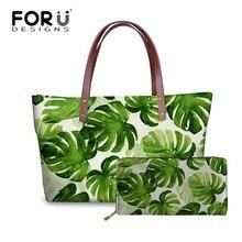 FORUDESIGNS Ladies Luxury Design Hand Bags for Women Tropica