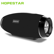 HOPESTAR H27 Rugby Wireless bluetooth speaker stereo soundbar waterproof outdoors Subwoofer Mp3 player tf usb for charge mobile(China)