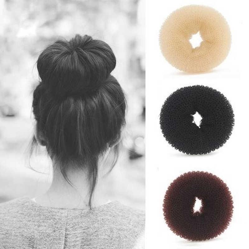 Лидер продаж 1 шт. кольцо ручной работы Hairbands Уход за волосами и инструменты для укладки Заколки для волос выбор Для женщин девочек для волос в форме пончика