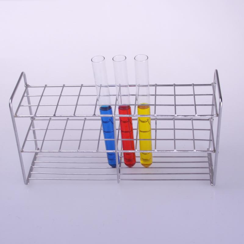 цена на High quality square stainless steel test tube racks laboratory equipment Free shipping