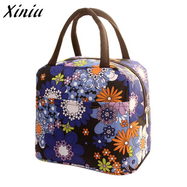 Thermal Insulated Tote Picnic font b Lunch b font Cool font b Bag b font Cooler