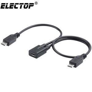 Electop Micro USB 2.0 Female T