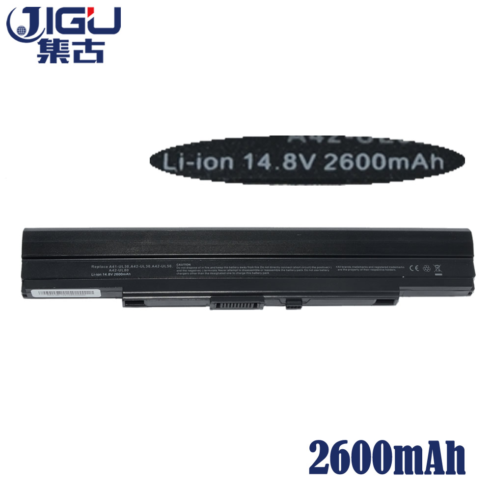Image 3 - JIGU Laptop Battery For Asus A31 UL30 A32 UL30 A32 UL80 A41 UL80  A32 UL5 A42 UL50 UL30 UL50Vg UL80A UL30A X4 U35J U35JC-in Laptop Batteries from Computer & Office
