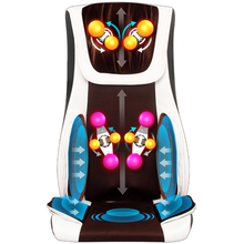 Vibrating electric body massager machine multifunction heating shoulder back massage cushion chair relax muscle therapy massage