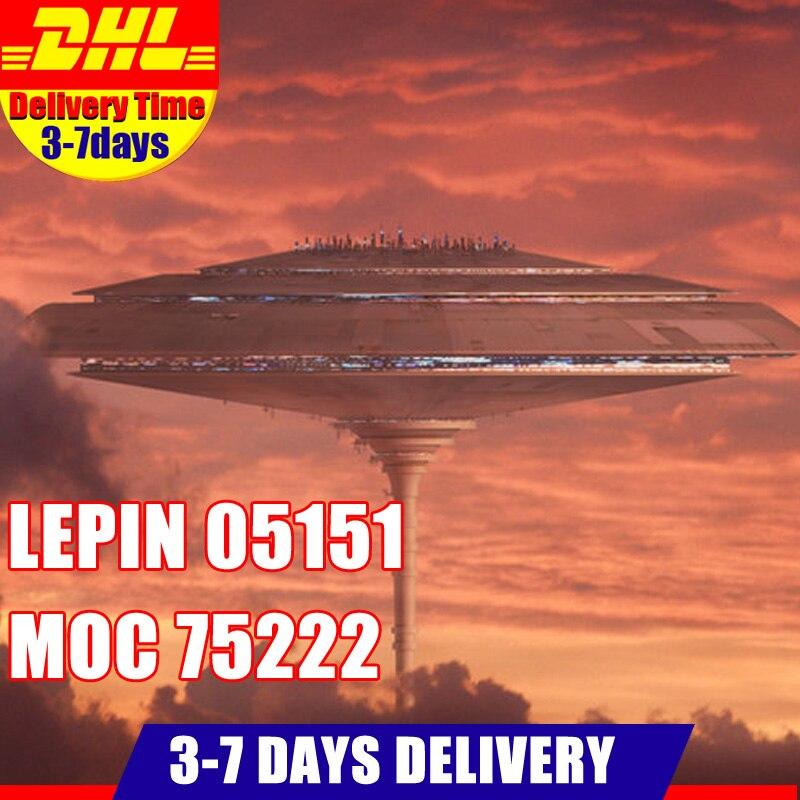 Compatible 75222 Lepin 05151 3149 pcs Étoile Plan Série Wars Ensemble Modèle Blocs De Construction Briques Jouet De Noël