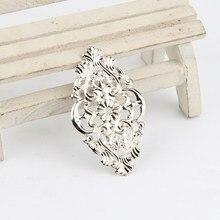 20Pcs connettori in filigrana placcati argento connettore in metallo per gioielli che fanno accessori ciondolo fai da te