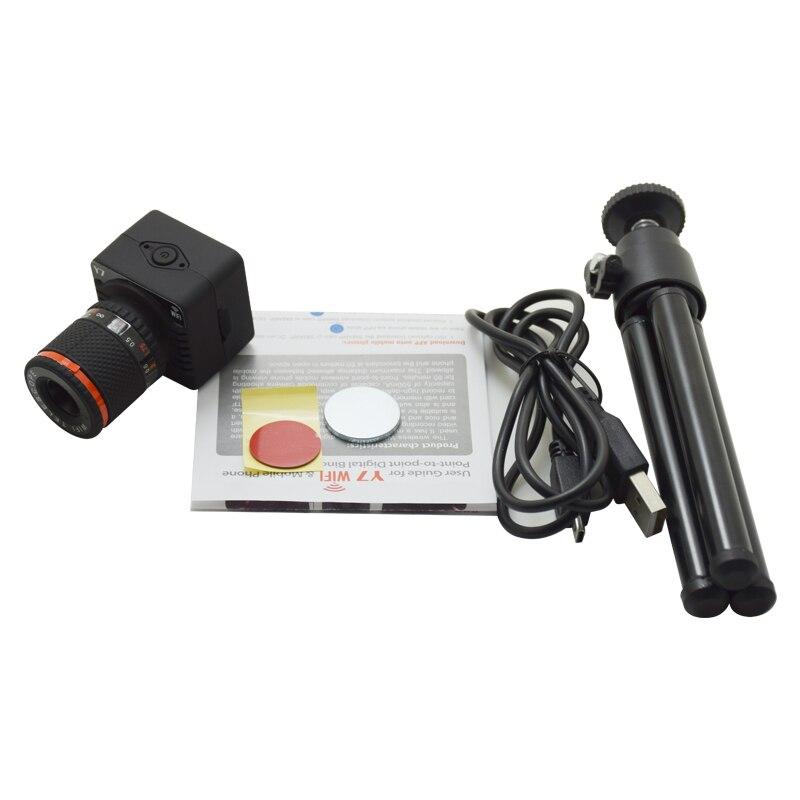 Contrôle APP enregistreur vidéo sans fil 50x jumelles numériques WiFi caméscope P2P 50X Zoom Mini caméra - 6