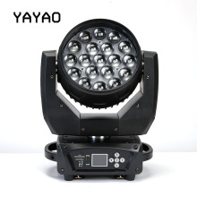 YA Yao 19X15W LED Zoom Moving Head Light RGBW Wash Effcect Light for DJ Party Disco Clubs Equipment Screen LED Stage Light шапка check ya head check ya head mp002xu0e71z