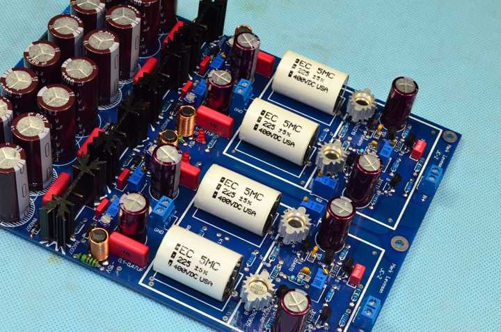 Dual differential FET input amplifier Gold seal Class A AMP