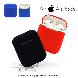 1PCS For AirPods Silicone Case Cover Protective Skin For Apple Charging Case Sport Headphone For Airpod Earphone Charger Cases