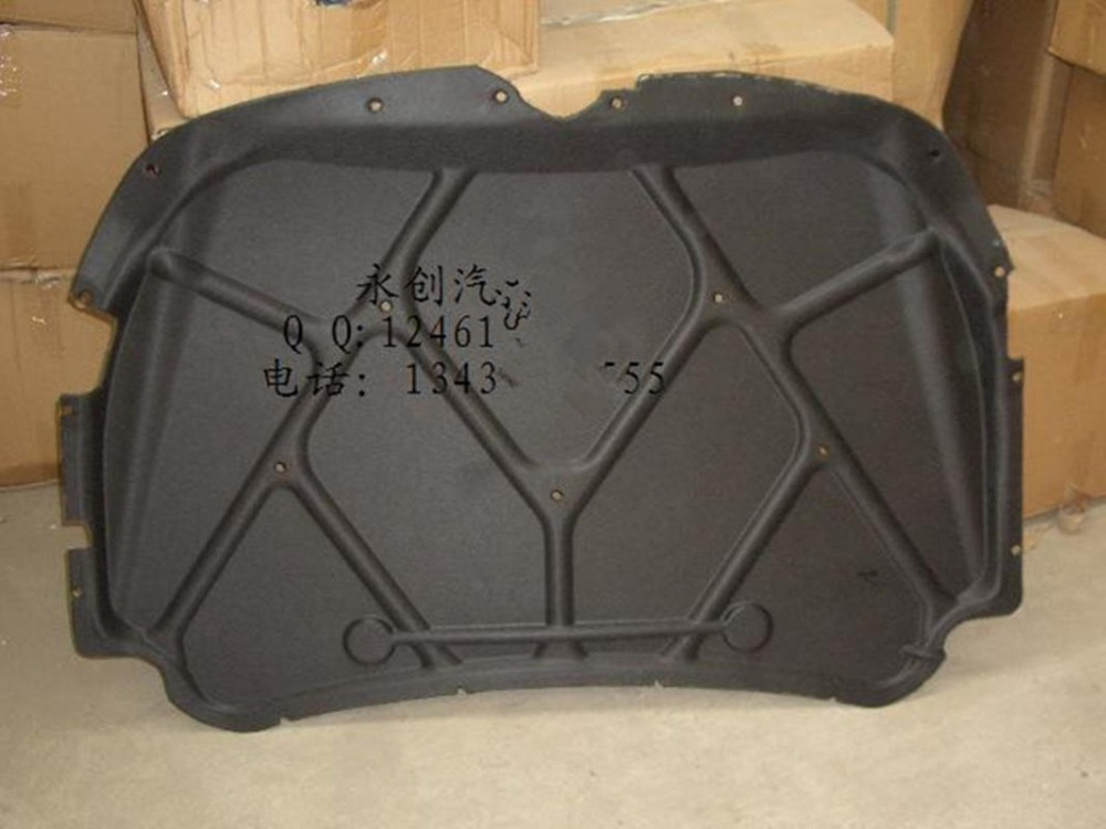 ФОТО Geely CK,CK2,CK3,Car hood insulation cotton board,lined,