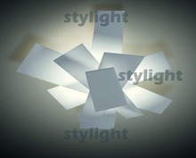 40*35cm Big Bang Ceiling Lamp Modern Design Lighting White Color Metal Material Free Shipping