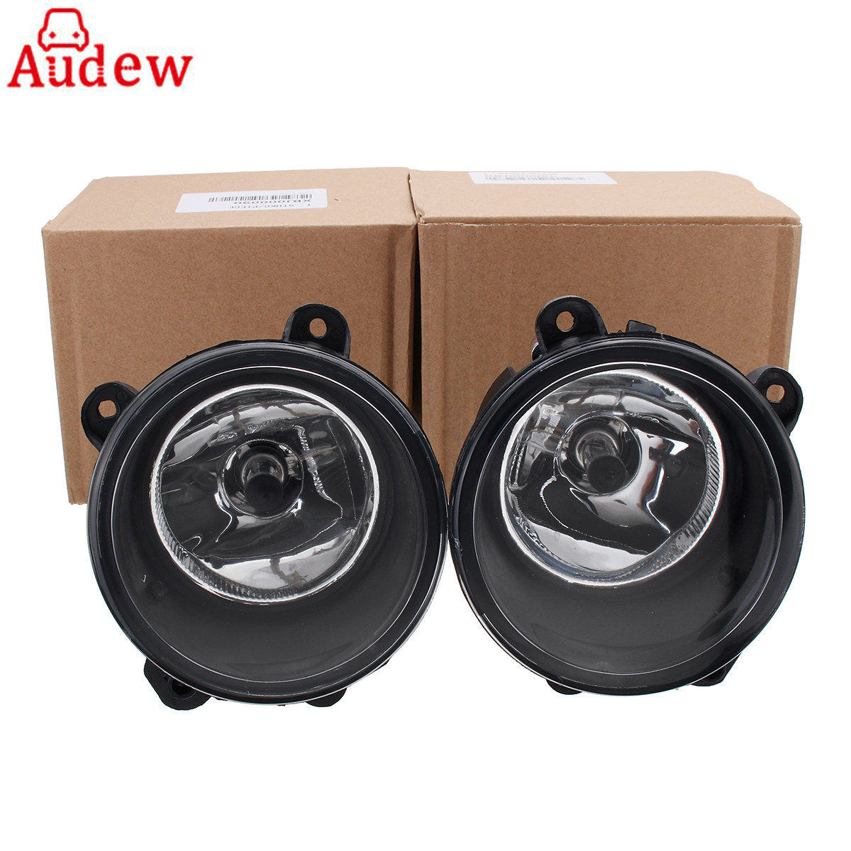 1Pair Clear Front Fog Lights Right&Left w/ H11 Bulbs For Land Rover Discovery 3 2003-2009 1pair right
