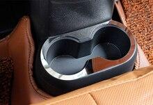 Cromato In Plastica ABS Interni Sedile Posteriore Supporto di Tazza di Acqua Piastra di Copertura Trim Per Jeep Compass 2011 2012 2013 2014 2015