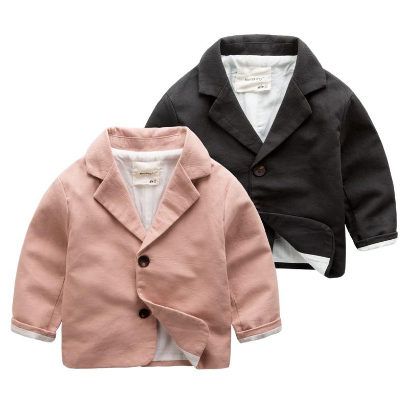 Small suit boy flower suit 2016 new cotton coat baby child coat