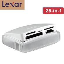 Lexar wielu kart 25 in 1 pamięci czytnik kart inteligentnych USB 3.0 500 mb/s kompaktowy TF SD karta cf czytnik dla akcesoria do laptopa kamery