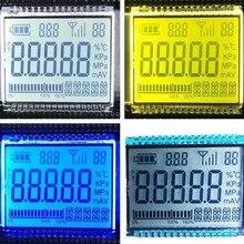 32PIN HTN положительный 5-знака после запятой сегмент ЖК-дисплей сварки Панель белый/желтый и зеленый цвета/синий Подсветка 3V