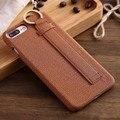 7 plus capa para iphone 6 s plus case weave grain para iphone 7 back case capa com suporte suporte para iphone 6 casos elegante cap