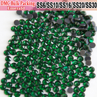 Bulk Packing Hot Fix Iron On Beautiful stoning design stones and crystals Emerald Transfer Designs Hotfix Rhinestones