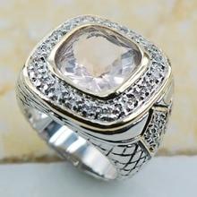 Белый Кристалл Циркон 925 пробы серебро Высокое качество Необычные ювелирные изделия обручальное кольцо размеры 6 7 8 9 10 F1162