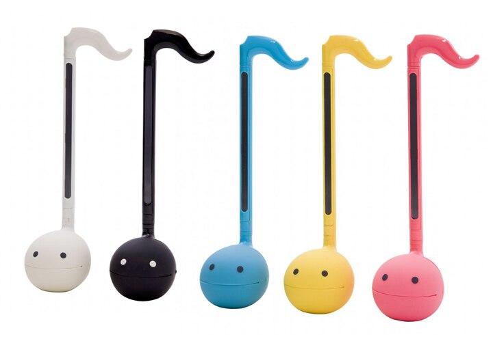 Otamatone divertido instrumento musical/brinquedo de som/ótimo brinquedo musical/versão normal/cinco cores/alta 27cm
