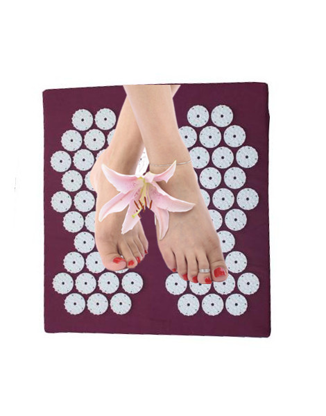 (size32*34cm) Acupuncture Foot Massage Cushion Yoga Acupressure Mat Pillow Neck Hip Back Foot Pain Relif Body Massager