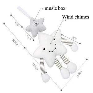 Image 3 - Baby Rammelaar Kinderwagen Speelgoed Muzikale Mobiele Baby Speelgoed Leuke Leren Edccation Cartoon Ster Voor Baby Kinderwagens Wieg Opknoping