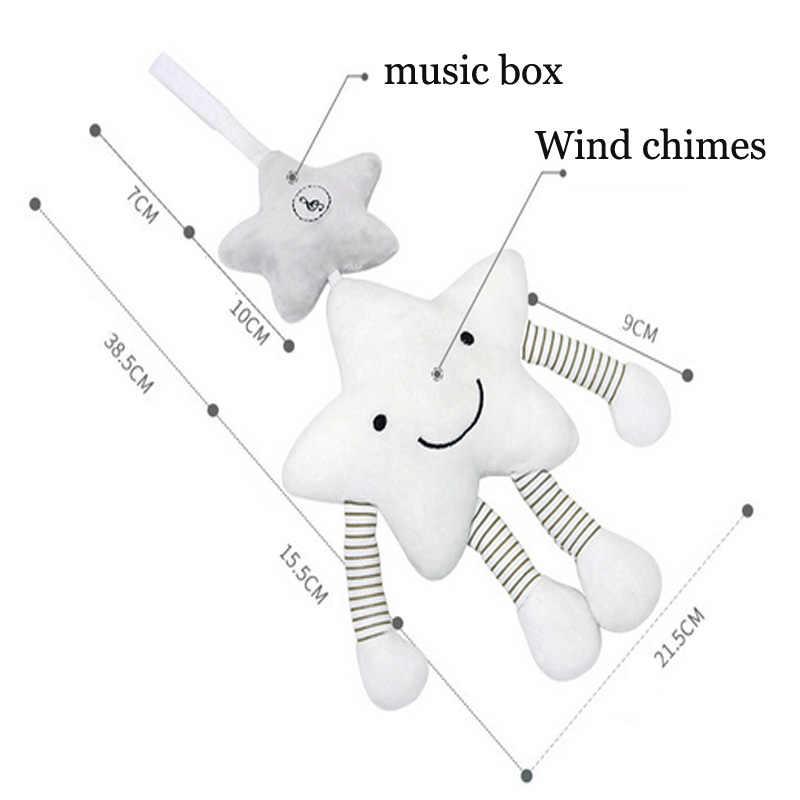 Baby Rassel Kinderwagen Spielzeug Musical Mobile Baby Spielzeug Nette Lernen Edccation Cartoon Stern Für Infant Kinderwagen Krippe Hängen