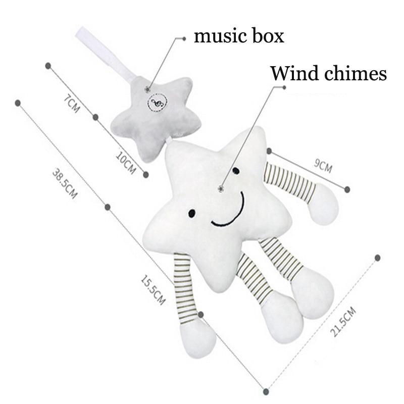 Kūdikių barškučių vežimėlių žaislas muzikinis mobilus - Kūdikių žaislai - Nuotrauka 3