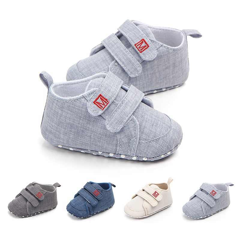 adf24f0c8f31 Classic Canvas Baby Shoes Newborn First Walker Fashion Baby Boys Girls Shoes  Cotton Casual Shoes for