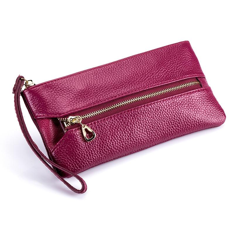 새로운 다기능 마무리 암소 정품 가죽 키 케이스 숙녀 핸드폰 가방 가정부 키 지갑 열쇠 버클 보관소