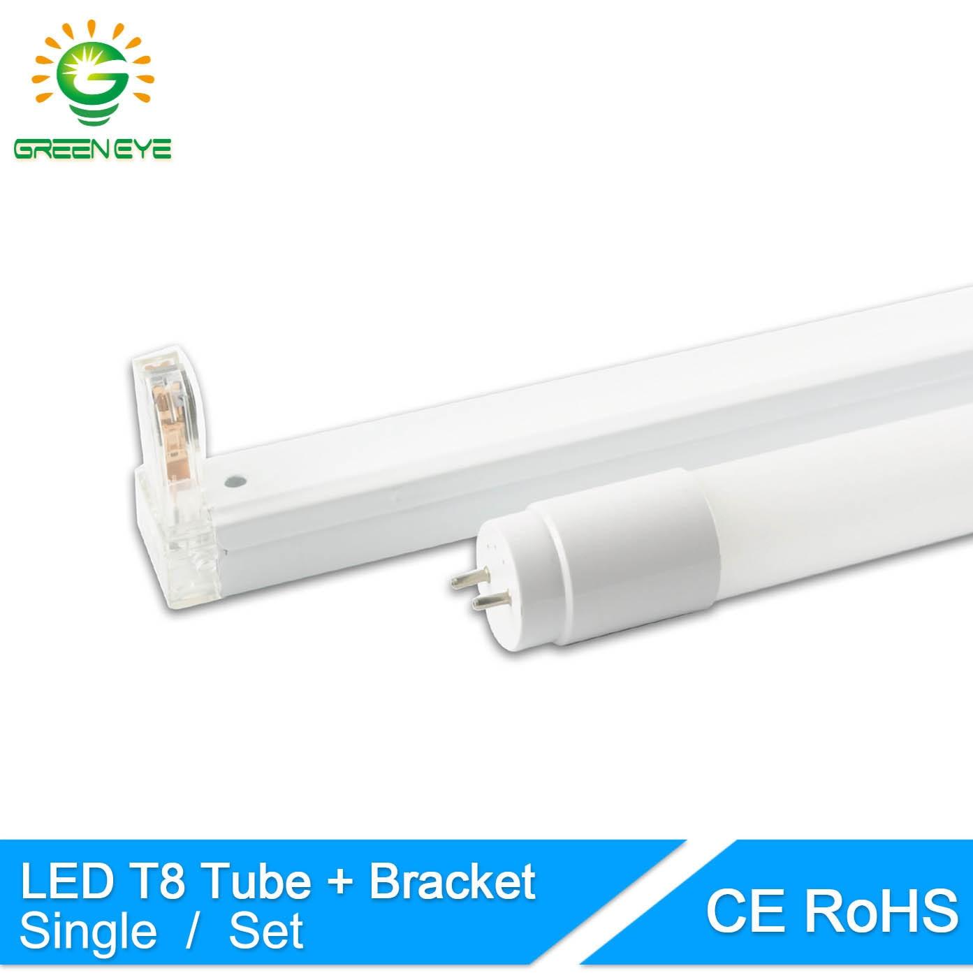 GreenEye 1set/single LED Tube T8 / Folding Fixtures
