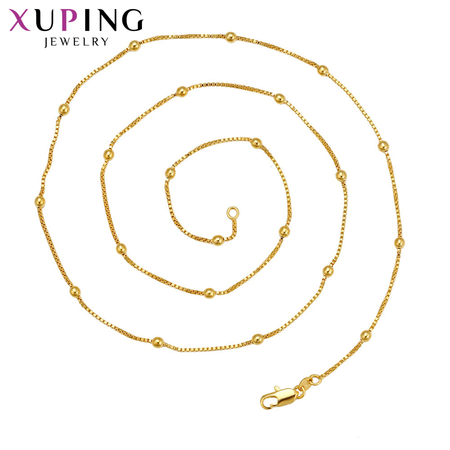 11.11 Deals Xuping Fashion Elegant Necklace Charm Style Long Necklace Women Girls Chain  ...