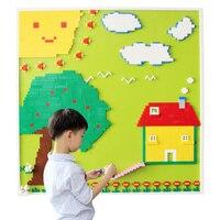 DIY 1500 Building Block кирпичи комплект + 16 шт. плиты DIY Творческий настенные образования основная блоки, совместимые с Legoed стены