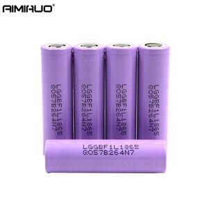 Bateria recarregável do lítio de 3.7 v 3350 mah 18650 li-ion para lg lg18650f1l batteria lg bateria para o acumulador da tocha da lanterna elétrica