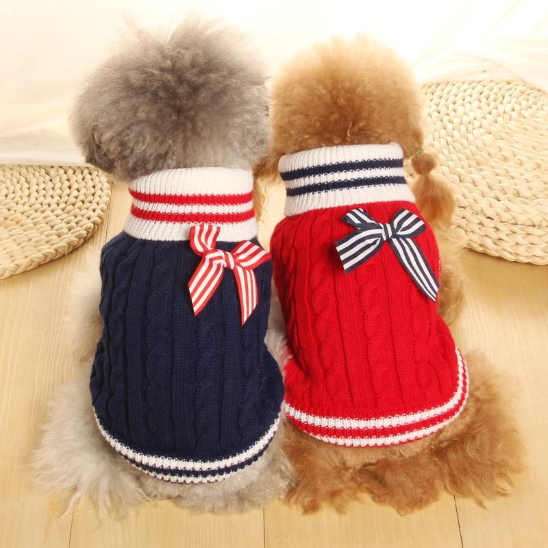 Sailor XXS kutyaruházat Kék / piros L / M / S / XS / XXS pulóver - Pet termékek