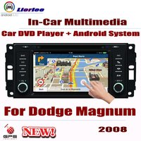 Car Radio DVD Player GPS Navigation For Dodge Magnum 2008 Android HD Displayer System Audio Video Stereo In Dash Head Unit