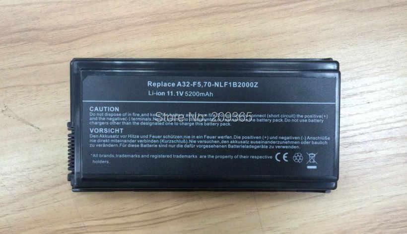 بطارية لابتوب أسوس X50SL X50Sr X50V X50VL X59 X59Sr ، استبدال: A32-F5 70-NLF1B2000Z 70-NLF1B2000Y