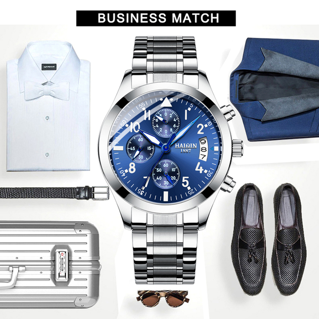HAIQIN 8702 Men's watches Business