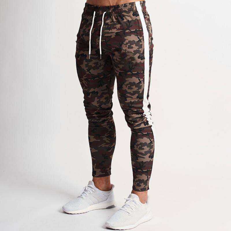 Joggers Pants Men 2020 Camouflage Colour Patchwork Men Pants Fitness Sportswear Sweatpants Male Casual Leggings Trousers 31