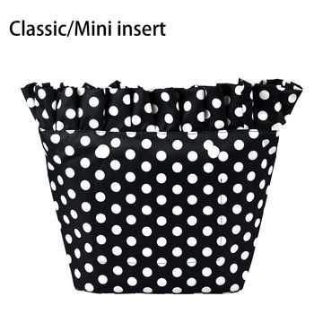 2018 New Composite Twill Cloth Classic Mini Waterproof Frill Pleat Inner Lining Insert Zipper Pocket for Obag Pocket for O Bag - DISCOUNT ITEM  16% OFF All Category