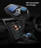 Bluetooth Car Kit FM Transmitter Bluetooth Radio Adapter MP3 Music Player USB Car Charger 5V 2