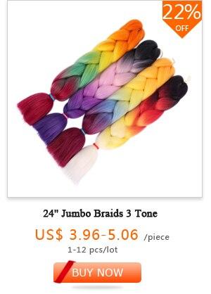24 Jumbo Braids 3 Tone