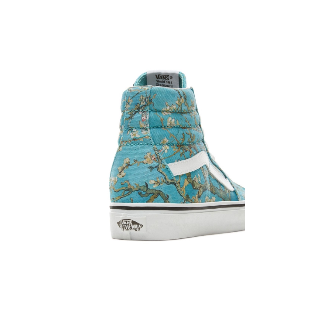 335c728241a508 Vanses x Van Gogh Museum Sk8 Hi Shoes Almond Blossom Slip On-in  Skateboarding from Sports   Entertainment on Aliexpress.com