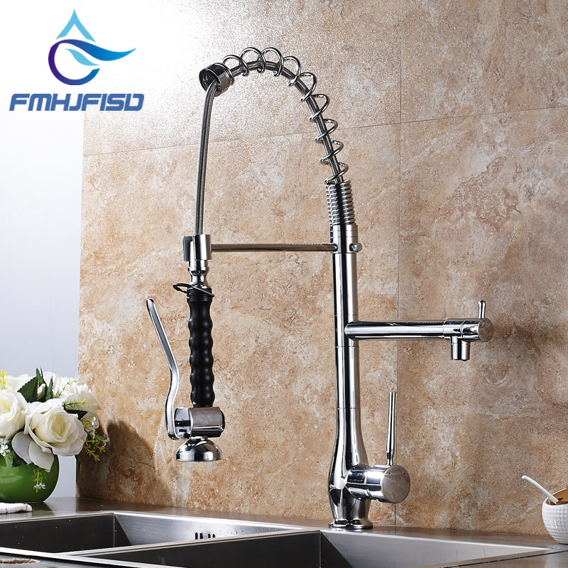 New Arrival Chrome Finish Deck Mounted Single Handle Single Hole Kitchen Mixer Faucet brand new deck mounted chrome single handle bathroom